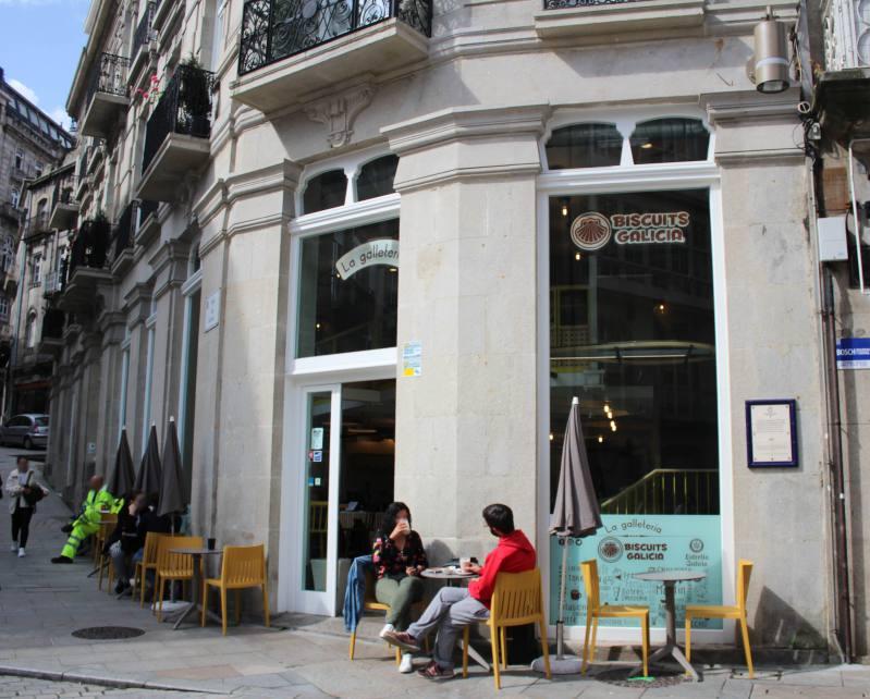 Cafetería Biscuits en Vigo