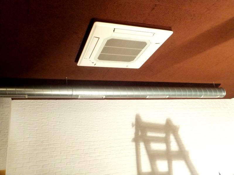 Climatización en Ourense con Cassette