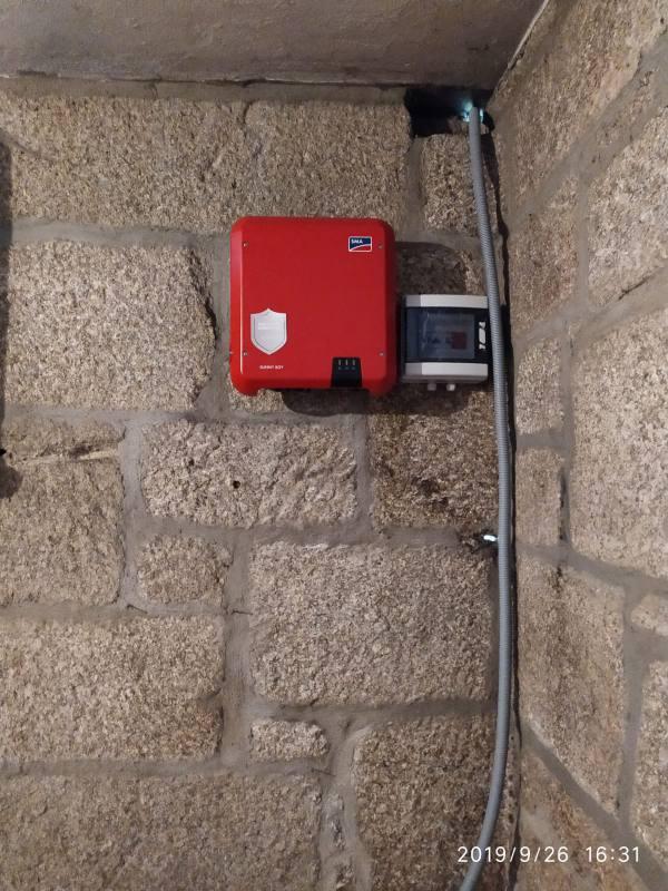 Instalación de fotovoltaica en Mondariz