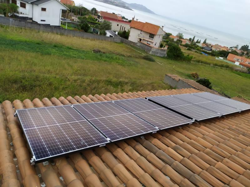 Instalación de fotovoltaica en Panxón
