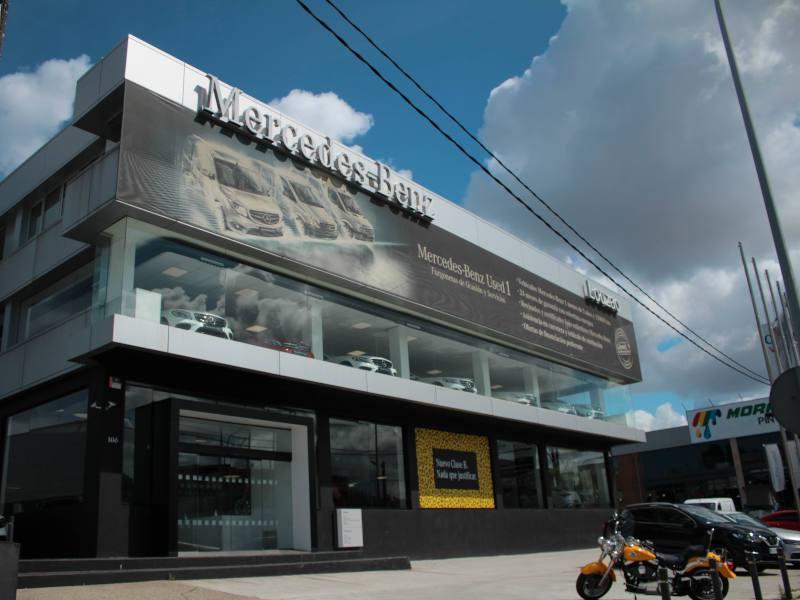 Concesionario Mercedes Benz Vigo